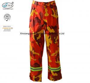 China Reflective  Fire Resistant Pants / Hi Vis Fr Pants Electrical Arc Flash Protective on sale