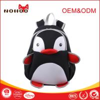 Best Pratical Neoprene Children School Backpack Cartoon Character Backpacks Penguin Style wholesale