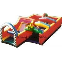 Best 12*6*4m Reusable Inflatable Obstacle Courses For Advertising wholesale