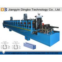 Best C Shaped Steel Strut Channel Metal Roll Forming Machine For 41x41 & 41x21 Strut Sections wholesale