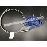 Quality AISI304 Sheath Type J Multipoint Mineral Insulated Thermocouple Ungrounded wholesale