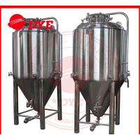 Best 7BBL Conical Beer Fermenter , Conical Stainless Steel Fermenter wholesale