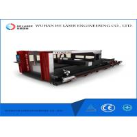 Quality High Power Fiber Metal Laser Cutting Machine For Round Square Steel Tube Pipes wholesale
