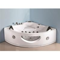 Best Luxury sector shape corner 2 person jet bathtub over the tub whirlpool massage bath tub with jets wholesale