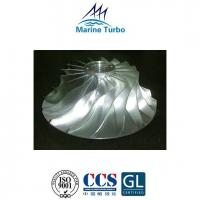 China T-MET33SC Turbocharger Compressor Impeller For Marine And Stationary Engines on sale