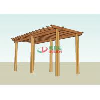 Best DIY wood plastic composite pergola construction for outdoor / 6.6mx2.8m / OLDA-5014 wholesale