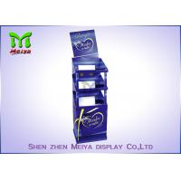 Best 3 Shelves Retail Standee Advertising Foldable Display Stand With Trays Holding wholesale