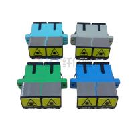 Best SMF MMF SC PC APC Fiber Optical Adapter External Shutter For FTTH Connection wholesale
