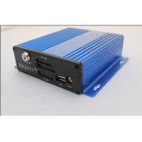 3G GPS 4 Channel MINI Mobile Vehicle DVR , SD Card Car DVR Recorder