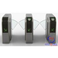 Best Half Height Prestige Security Flap Gate Bidirectional Intelligent Flap Turnstile With Rfid Door Entry System wholesale