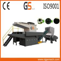 Best Waste Recycling Single Shaft Plastic Shredder Machine With 300-600kg/H wholesale
