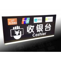 Best Supermarket Checkout Counter Led Directional Signs With Ceiling Hanging Design wholesale