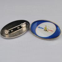 Best Epoxy dome promotional lapel pin with safety pin, tailored branding epoxy lapel pins, wholesale