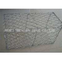 Best Channel Linings Double Twist Wire Mesh / Hexagonal Wire Mesh For Sea Wall wholesale