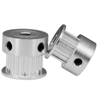 Best Silver GT2 Pitch 2mm Width 6mm 2GT 16 Tooth Pulley Aluminum alloy wholesale