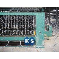 Best Automatic Hexagonal Wire Netting Production Line Heavy Duty Gabion Mesh Machine wholesale