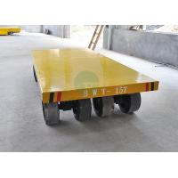 Heavy Loads Flatbed Trailer Material Transfer Wagon Towed By Powered Equipment