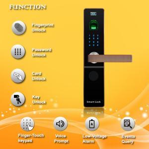 Best Contactless Fingerprint Door Locks For Your Home , Bluetooth Entry Door Lock wholesale