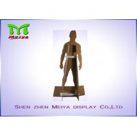 Cheap Cardboard standees / custom cardboard displays advertising standand for training for sale