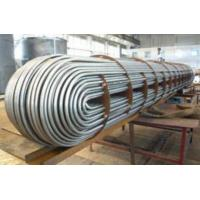 China 304 316 U Bend Stainless Steel U Tube For Heat Exchange ASTM A213 Standard on sale