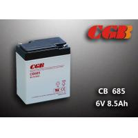 Best 6V 8.5AH Gray AGM Sealed Lead Acid Battery CB685 For UPS / Medical Equipment wholesale