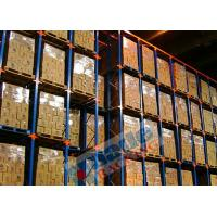 Best Blue Orange Material Handling Racks Drive Through Racking For Cold Storage wholesale