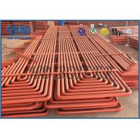 Best Pendant Type Coils Boiler Superheater & Reheater With Claps Ovality And Thickness Both Less Than 15% wholesale