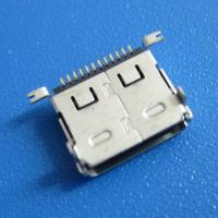 Cheap Female Micro USB Connector 12Pin SMT Type for sale
