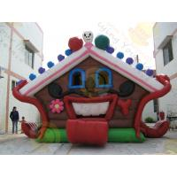 Best Huge Eye - Catching Advertising Inflatable Castle Bouncer For Childrens Party wholesale