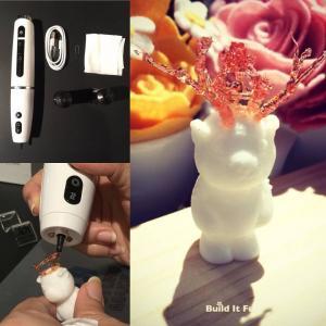 Best Smallest Children 3D Pen Doodler , Polyes Q1 3D Pen Draw in the Air Without Danger wholesale