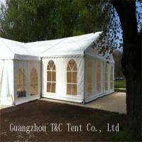 Best Easy Assembled Large Party Tents With Decoration Inside For Holding 200 People wholesale