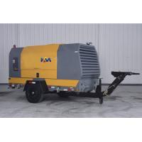 Best Movable Diesel Engine Driven Air Compressor , Pull Behind Air Compressor wholesale