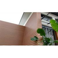 China Composite wood decking wall panel/composite board/Exterior WPC Wall Cladding on sale