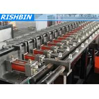 Quality U Channel Purlin Roll Forming Machine13 Stations for Steel Construction wholesale