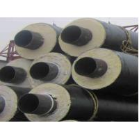 Best Black PU Foam Thermal Insulated Steel Pipe A53 A , B For Petroleum , Thick Wall wholesale