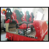 Best Digital Control 5D Cinema System with Hydraulic Motion Seat for 6 People wholesale