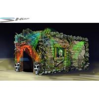 Best Dinosaur Cinema Box, Mobile 5D Motion Theater Movie Equipment For Theme Park wholesale