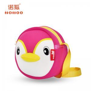 Best Cute Neoprene Water Proof Kids Messenger Bags For Girls , Penguin Design wholesale