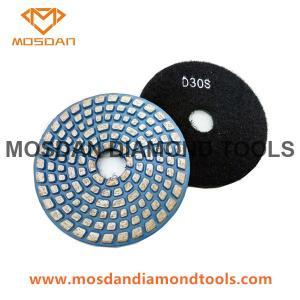 Best 4'' Metal Medium Bond Polishing Pads for Hard Concrete Surface wholesale