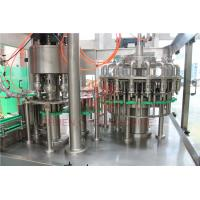 Cheap 8000BPH Plastic Bottle Filling Machine , Rinsing Filling Capping Machine Food Grade for sale