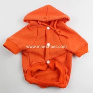 Best orange color pet clothing dog polo shirt dog fleece pet clothes for dogs wholesale