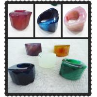 Best Natural Agate Ring, Gemstone Agate Ring, Druzy Agate Jewelry With Custom Designed Style wholesale