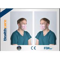 China Hospital Face Mask Surgical Disposable 3 Ply With ISO 13485 / ISO 9001 Approved on sale