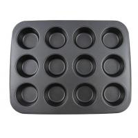 Best Carbon Steel Non stick bakeware 12 cups muffin pan cake mould cupcake wholesale