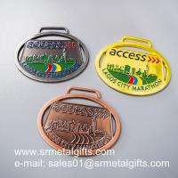 Custom unique metal medals maker in China for customized metal medals