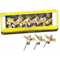 Buy cheap Yellow Small Bumble Bee toy fireworks novelty from wholesalers