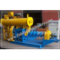 China Blue/yellow Fish Feed Extruder FY-DSP60 with 200kg/h production on sale