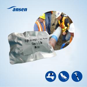 Best Waterproof water activity polyurethane resin fiberglass armor wrap tape , Leaky Pipes and Plumbing Fix repair tape wholesale