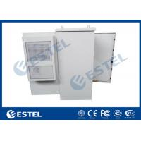 China 27U Air Conditioner Type Outdoor Communication Cabinets With One Front Door on sale