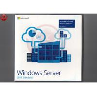 Best 64 Bit Full Version Windows Server 2016 OEM DVD COA Sticker Windows Server 2016 Os wholesale